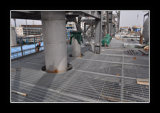 Grata d'acciaio del parcheggio per la pavimentazione