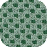 Custom Green tricot de tecidos de poliéster para sacos/sapata