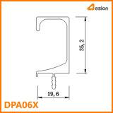Poignée de profil d'extrusion en aluminium de Dpa06X