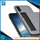 iPhone 7plus를 위한 1개의 카드 Slot+Armor 새로운 전화 덮개에 대하여 2