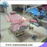 Chaise électrique-hydraulique de gynécologie avec lumière opérationnelle sans ombre