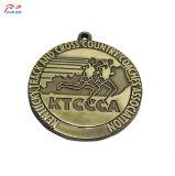 Настроить логотип футбол творческие металлические медаль