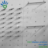 Bildschirmanzeige-Zahnstangen-bereift an der Wand befestigtes Schuh-Zahnstangen-Regal Bildschirmanzeige-Zahnstange