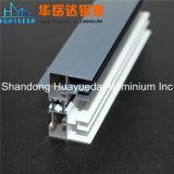 Perfil revestido del aluminio de la puerta del obturador del rodillo del perfil de la protuberancia de la ventana de aluminio del polvo