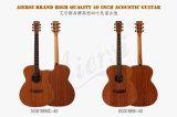 D'usine guitare acoustique de qualité directement avec le prix promotionnel