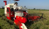 Correa eslabonada, anchura de corte de los 2.0m, máquina segador del arroz 88HP para Sri Lanka