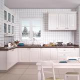 Tarjeta moderna del estilo MDF/Particle/cabinas de cocina blancas de la madera contrachapada