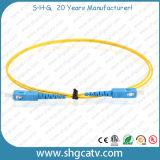 Correa de remiendo óptica de la fibra de Sc / Upc de la alta calidad (SC / UPC-SC / UPC)