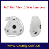 Completamente - do intercomunicador sem fio 960p WiFi da maneira do grau 2 da câmera 360 do CCTV da vista câmera interna do IP