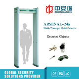 poort van de Detector van het Metaal van de Bouw van 6 van /18 Streken van het Alarm de Commerciële
