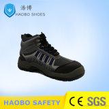 OEM de Gespleten Schoenen van de Veiligheid van Ce van het Schoeisel van de Veiligheid van het Leer S1p