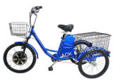 Preiswertes 500W elektrisches untaugliches Dreirad, 3 Rad-elektrischer Roller mit Leitungskabel-Säure-Batterie