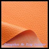 Couro do plutônio do PVC do teste padrão da forma para o sofá, saco de mão, assento de carro
