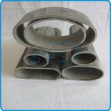 De aço inoxidável sem costura tubo oval