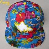 Изготовление шлема крышки Snapback печатание сетки
