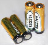 건조한 Battery Lr6 AA 1.5V Alkaline Battery