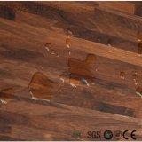 Étage en bois arrière sec de vinyle de PVC de colle populaire