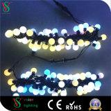 Feenhaftes LED Kugel-Licht der im Freienfeiertags-Dekoration-