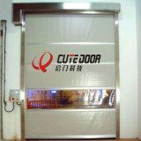 Venta caliente Eléctrica Industrial PVC plástico automática de la puerta de alta velocidad