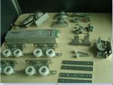 Commande automatique commerciale en aluminium de porte coulissante