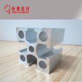Quadratisches Gebäude-Aluminiumlegierung verdrängte Rohr-Profil für Baumaterial