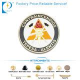 Distintivo molle di Pin di metallo dello smalto di vendita calda su ordinazione