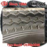 CNCの技術トラックバスバイアスタイヤのための2部分のタイヤ型
