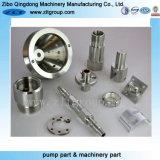 Parte de usinagem de metais CNC OEM com alta qualidade