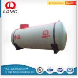 El FRP Fibra de vidrio doble pared tanques de combustible subterráneos Luqiang Diseñado por