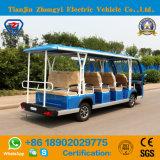 Zhongyi 14 автомобиля мест электрических Sightseeing без дверей на сбывании