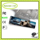 Câmera de espelho retrovisor de carro dupla lente