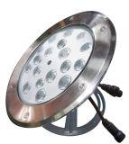 12W Swimmingpool, der ringsum im Freien LED-Unterwasserlicht beleuchtet