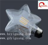 에너지 절약 꾸며진 LED 별 필라멘트 전구