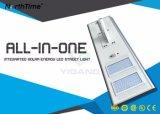 MPPT Controller aller in einer angeschaltenen LED-Solarstraßenlaterne