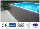 목제 플라스틱 합성 옥외 Decking, 정원을%s WPC Decking 지면 또는 테라스 훈장 100*25mm 중국