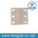 Dobradiça plástica branca pequena da mobília Yh9433