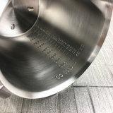 Taza de medición del acero inoxidable con el marcado con la maneta