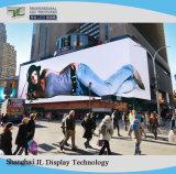 P10 Outdoor LED de cores de tela de instalação fixa com tela grande
