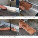 A banda de madeira vertical de alta qualidade e Serra Serra de fita para trabalhar madeira e a banda de corte de madeira Serras Portable