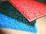Hoja de goma antirresbaladiza, estera de la bobina del PVC con clases de color