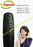 Pneumatico a temperatura elevata del motociclo della gomma del motociclo di resistenza (300-17)
