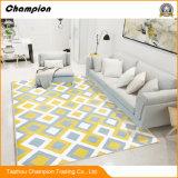 100% полиэстер напечатано коврик, Custom Print коврик, напечатанных с одной спальней и гостиной коврик