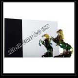1.8-6mmの暗い金の青銅によって着色される装飾的なミラー