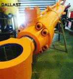 Cilindro hidráulico ativo dobro para a indústria da engenharia