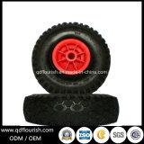 Пена PU 3.00-4 самоустанавливающегося колеса колеса тележки для инструмента - давление в шинах