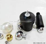 Tapa de tocado DIY Pearl remache con reborde de molde de la instalación de accesorios de prendas de vestir
