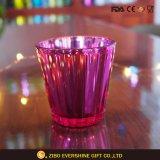 De uitstekende kwaliteit Gegalvaniseerde Houder van de Kaars van het Glas