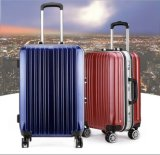 """ألومنيوم تغطية حقيبة سفر حقيبة حقيبة 20 """" ألومنيوم حامل متحرّك حقيبة مجموعة"""