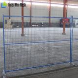 Il PVC mobile ha ricoperto la rete fissa provvisoria della costruzione di 6ftx10FT Canada