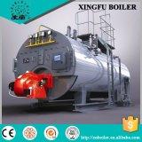 Estilo horizontal e o vapor quente ou saída de vapor da caldeira de Petróleo e Gás
